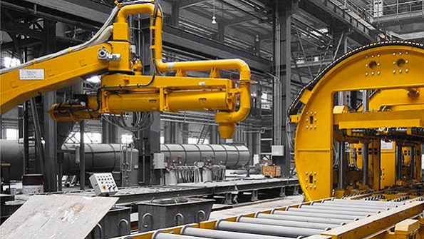 Space factory technological equipment for foundry
