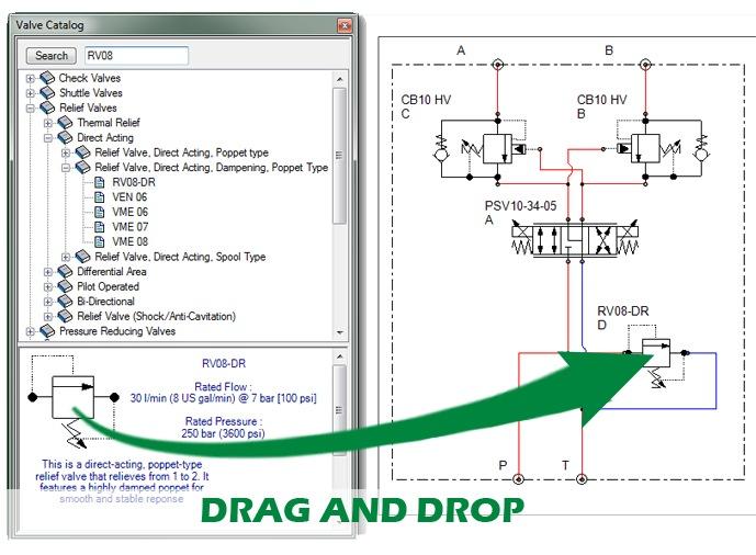 Manifold software simplifies design (web exclusive) | Hydraulics &  Pneumatics | Hydraulic Manifold Schematic |  | Hydraulics & Pneumatics