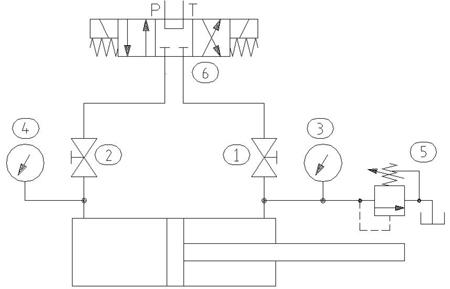 How To Test A Hydraulic Cylinder | Hydraulics & Pneumatics | Hydraulic Test Bench Schematic |  | Hydraulics & Pneumatics