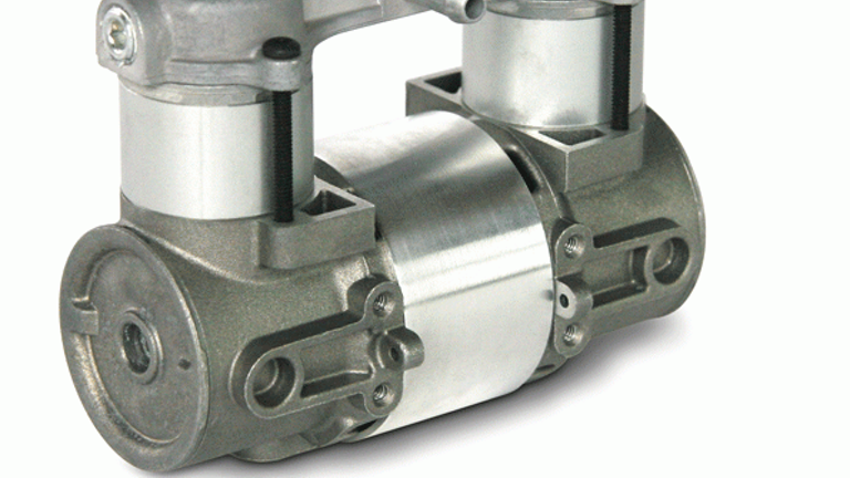 Small Compressors Run Quiet Hydraulics Pneumatics