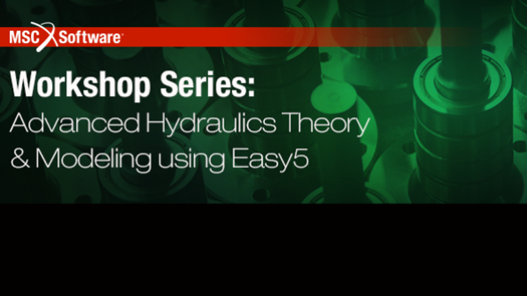 Free In Person Seminar Covers Hydraulic System Modeling Hydraulics Pneumatics