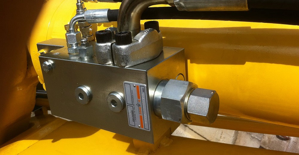 Locking Valve Locking Block hydraulically controlled check valve