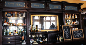 Irish Whiskey Museum in Dublin, Ireland