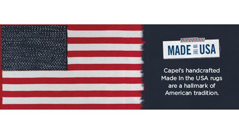 Made In America Capel Rugs