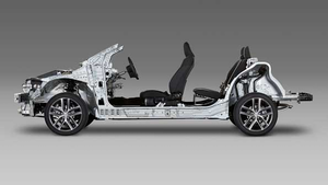 Toyota Motor Corp. will launch several new vehicle platforms, such as the one pictured here, that incorporate its Toyota New Global Architecture.