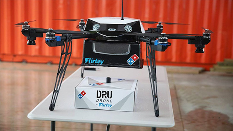 Pizza Delivery Drones: Turns Out, Pigs Are Flying (Sort Of ...
