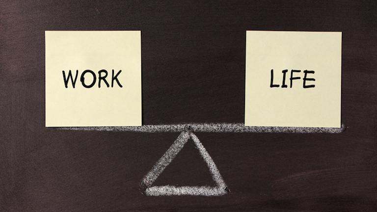 الموازنة بين العمل والحياة