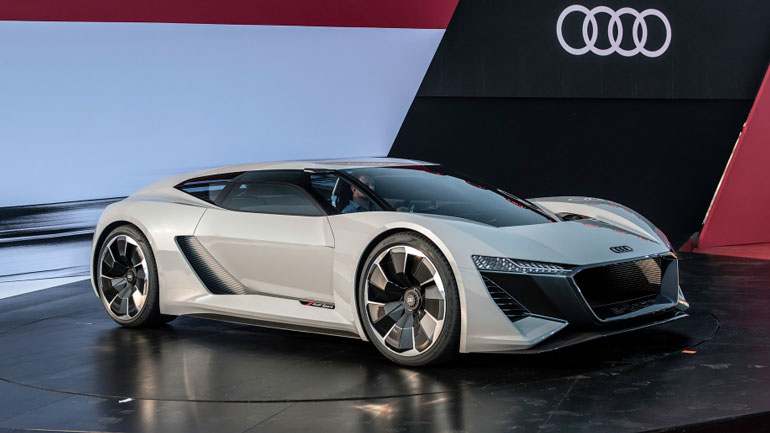Audi Recalls First Electric Vehicle In Us On Battery Fire Risk Industryweek