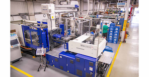 Viking Plastics embraces automation to help improve productivity, 'and we do this while growing people,' says Shawn Gross, engineering manager.