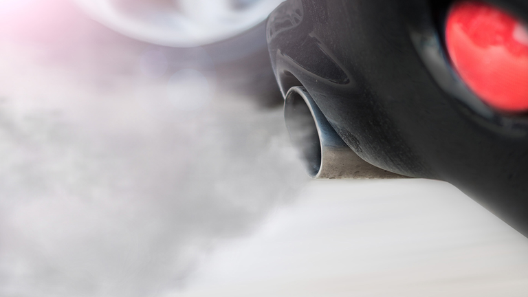 Exhaust Smoke Car Emissions 1540