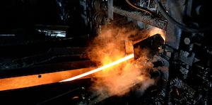 Hot Steel On Conveyor Id 39145307 © Softdreams Dreamstime