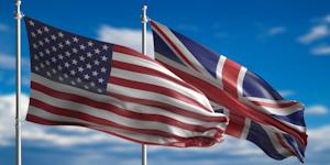 British Us Flags