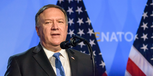 Mike Pompeo, Sec State © Gints Ivuskans Dreamstime