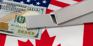 Canada Us Aluminum Tariffs Money © Jj Gouin Dreamstime