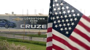 Industryweek 36445 Lordstown Gm Plant American Flag Eleonore Sens Afp Getty