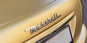 Yellow Maserati Logo Car Back Of Car Jannis Lucas Qb8ke Hp Poi4 Unsplash