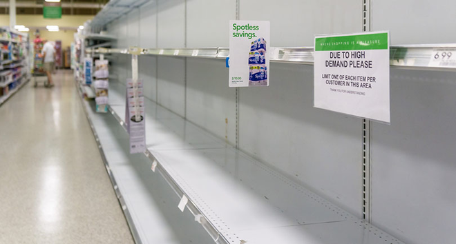 Empty Shelves Dreamstime 810 179332411