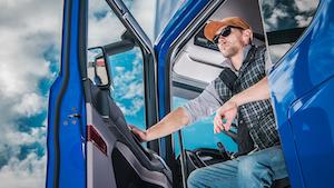 Truck Driver Open Door 5f7739fa44d00