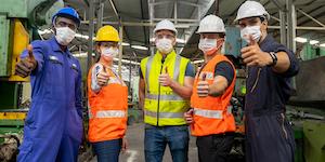 Wearing Masks Safety