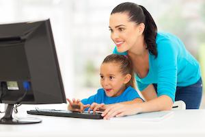 Parent Teaching Child