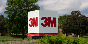 3 M Logo On Cube Ken Wolter Dreamstime