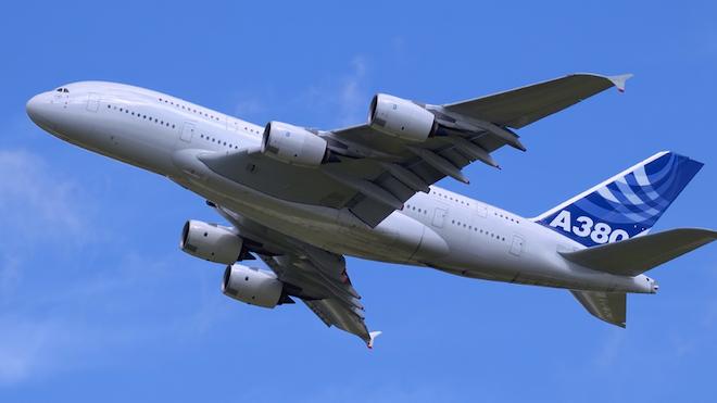Airbus A380 In Flight Martin Spurny Dreamstime 5f74acae95d79