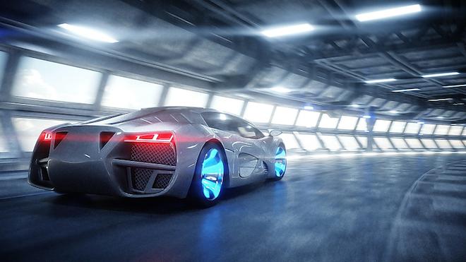 Futuristic Car 5fda8030c5400