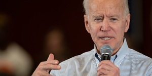 Biden Speaks On Campaign Trail © Andrew Cline Dreamstime