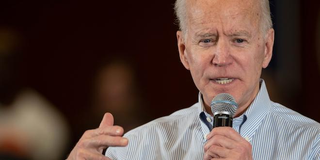 Biden Speaks On Campaign Trail © Andrew Cline Dreamstime