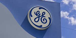 Ge General Electric Logo Building Exterior © Jonathan Weiss Dreamstime