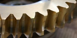 Gear Brass Closeup Photo Industry Machine Shinpanu Thamvisead Dreamstime