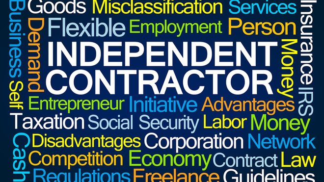 Independent Contractor Word Cloud 5ff8d00943515