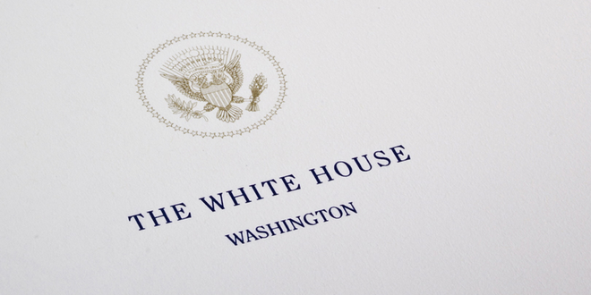 White House Seal On Paper The White House Washington Dc President Presidential Order Executive Order © Kostyantine Pankin Dreamstime