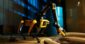 Arm Industrial Drag Hose Credit To Boston Dynamics