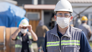 Construction Worker Masked