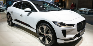 Jaguar I Pace Ev400 Electric Suv Car Vehicle © Vander Wolf Images Dreamstime