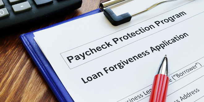 Payroll Protection Program Small Business Administration © Designer491 Dreamstime