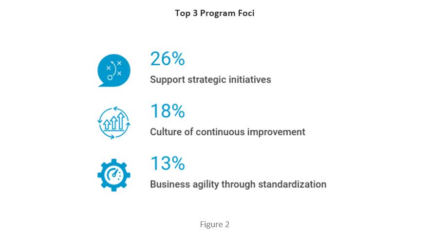 Top three program strategic goals