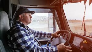 Older Truck Driver