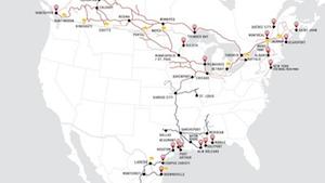 Railroad Map 1