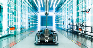 Multiple design versions of a specific part are tested in the TGR windtunnel for optimized aerodynamics. TGR and 3D Systems engage in a technology partnership to advance the science in automotive additive manufacturing.