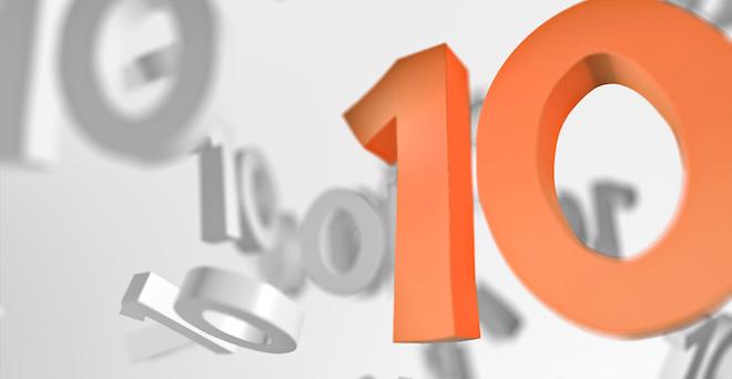 Ten Number 10 1540