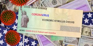 Coronavirus Stimulus Check © Photovs Dreamstime