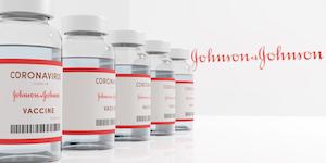Johson And Johnson Janssen Covid Vaccine Vials © Simon Lehmann Dreamstime