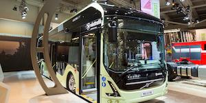 Volvo 7900 Electric Hybrid City Bus © Vander Wolf Images Dreamstime