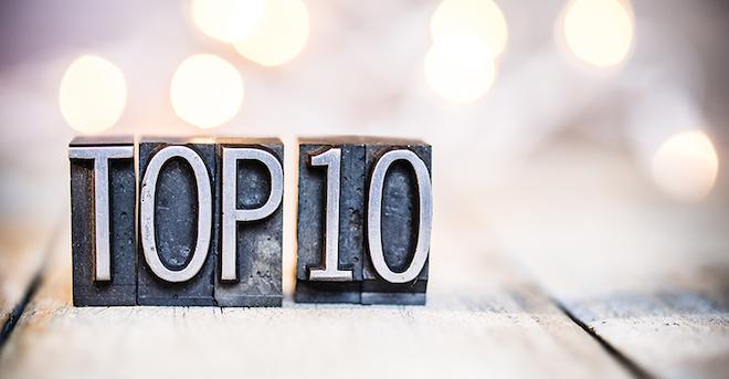 Top 10 Vintage Letterpress T810