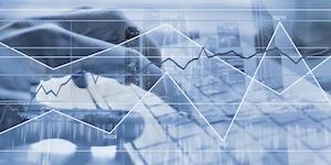 Data Computer Keyboard Graphs Analysis Gray Blue Business Information It Abstract © Anyaberkut Dreamstime