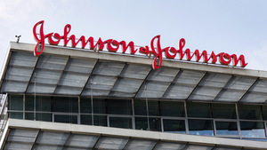 Johnson Johnson Corporate Logo On Building Headquarters Josefkubes Dreamstime 607eff47e182f