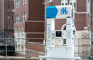 Hydrogen Charging Station © Frank Harms