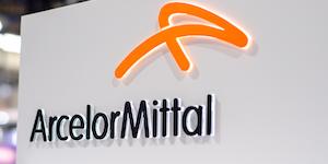 Arcelor Mittal Logo Orange On White Metal Steel © Oleksandr Lutsenko Dreamstime
